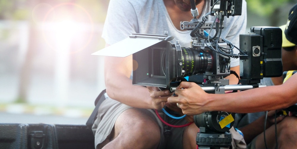 Image of a film director