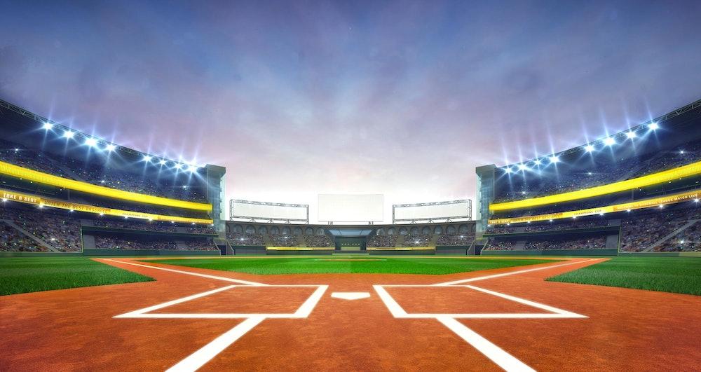 Image of a baseball field