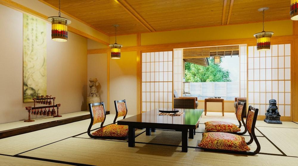 Image of a ryokan