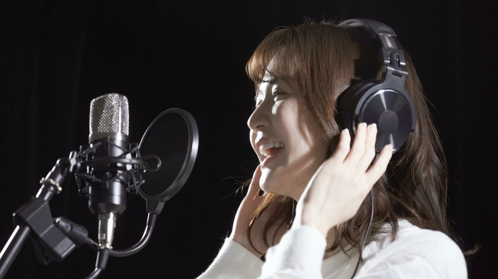 Image of a singer