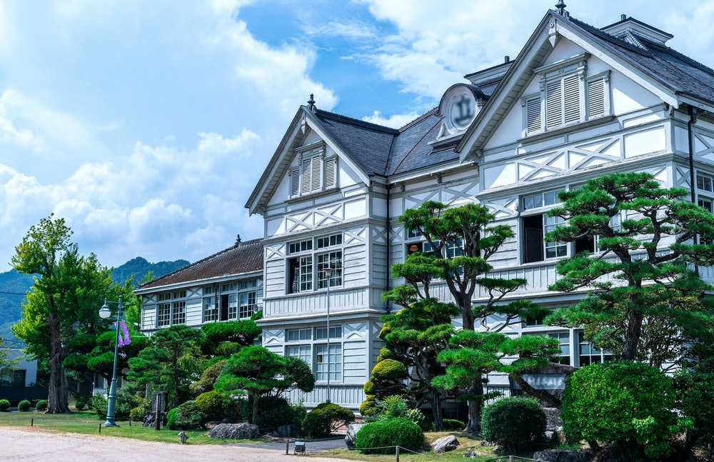岡山・旧尋常小学校の画像