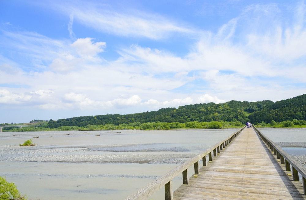 Image of Horai Bridge and the Oi River