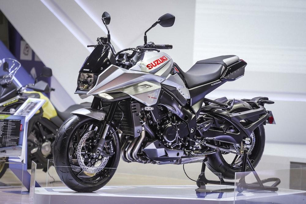 Image of a Suzuki motorcycle