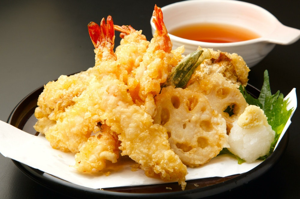 Image of assorted tempura