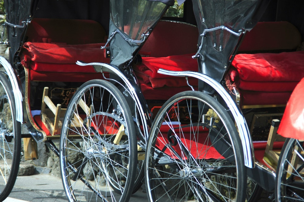 Image of a rickshaw