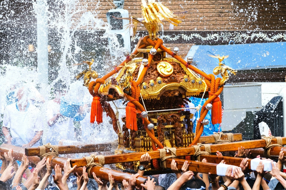 神輿の画像
