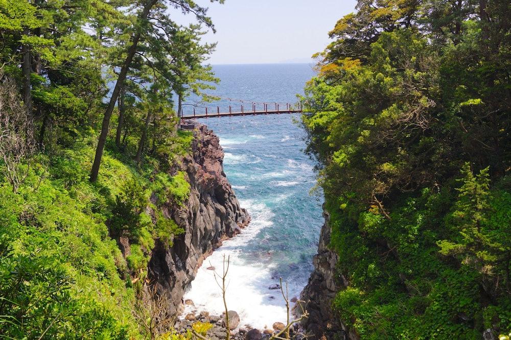 Image of Jogasaki coast・Kadowakitsuri Bridge