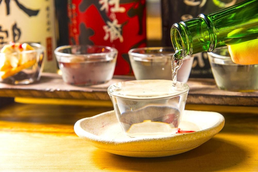 Image of sake tasting