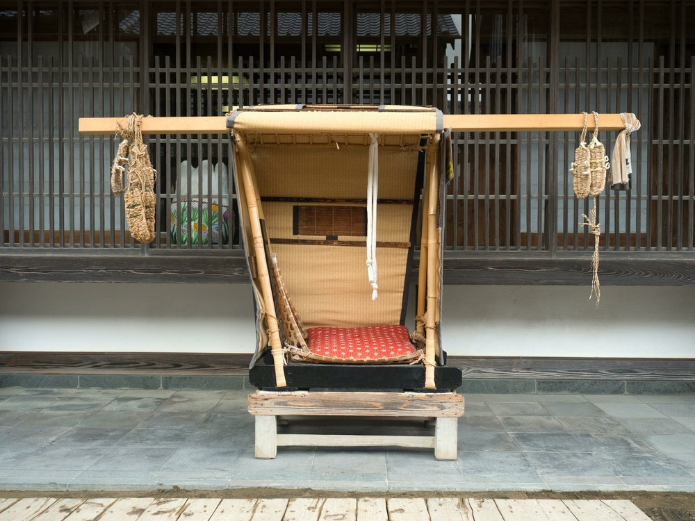 Image of a palanquin